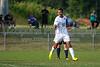 Bishop McGuinness Villains vs West Forsyth Titans Men's Varsity Soccer<br /> Forsyth Cup Soccer Tournament<br /> Friday, August 23, 2013 at West Forsyth High School<br /> Clemmons, North Carolina<br /> (file 181041_803Q4357_1D3)