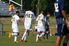 Bishop McGuinness Villains vs West Forsyth Titans Men's Varsity Soccer<br /> Forsyth Cup Soccer Tournament<br /> Friday, August 23, 2013 at West Forsyth High School<br /> Clemmons, North Carolina<br /> (file 180758_803Q4352_1D3)