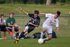 Bishop McGuinness Villains vs West Forsyth Titans Men's Varsity Soccer<br /> Forsyth Cup Soccer Tournament<br /> Friday, August 23, 2013 at West Forsyth High School<br /> Clemmons, North Carolina<br /> (file 190703_BV0H3731_1D4)