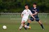 Bishop McGuinness Villains vs West Forsyth Titans Men's Varsity Soccer<br /> Forsyth Cup Soccer Tournament<br /> Friday, August 23, 2013 at West Forsyth High School<br /> Clemmons, North Carolina<br /> (file 185043_BV0H3580_1D4)