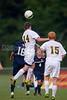 Bishop McGuinness Villains vs West Forsyth Titans Men's Varsity Soccer<br /> Forsyth Cup Soccer Tournament<br /> Friday, August 23, 2013 at West Forsyth High School<br /> Clemmons, North Carolina<br /> (file 190138_BV0H3669_1D4)