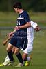 Bishop McGuinness Villains vs West Forsyth Titans Men's Varsity Soccer<br /> Forsyth Cup Soccer Tournament<br /> Friday, August 23, 2013 at West Forsyth High School<br /> Clemmons, North Carolina<br /> (file 181001_BV0H3395_1D4)