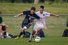 Bishop McGuinness Villains vs West Forsyth Titans Men's Varsity Soccer<br /> Forsyth Cup Soccer Tournament<br /> Friday, August 23, 2013 at West Forsyth High School<br /> Clemmons, North Carolina<br /> (file 190702_BV0H3728_1D4)