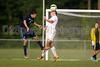 Bishop McGuinness Villains vs West Forsyth Titans Men's Varsity Soccer<br /> Forsyth Cup Soccer Tournament<br /> Friday, August 23, 2013 at West Forsyth High School<br /> Clemmons, North Carolina<br /> (file 185002_BV0H3574_1D4)