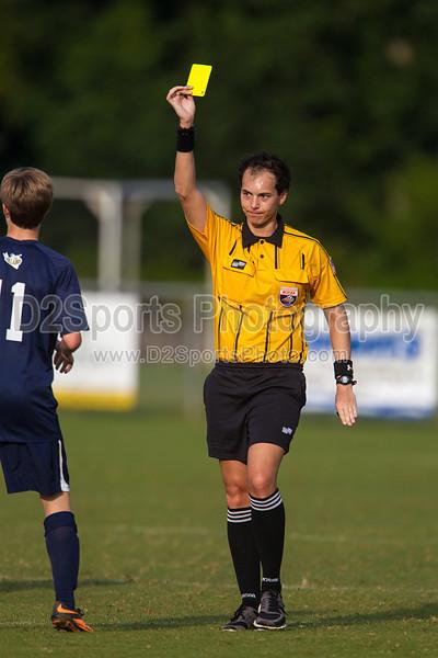 Bishop McGuinness Villains vs West Forsyth Titans Men's Varsity Soccer<br /> Forsyth Cup Soccer Tournament<br /> Friday, August 23, 2013 at West Forsyth High School<br /> Clemmons, North Carolina<br /> (file 181210_BV0H3409_1D4)