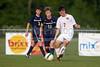 Bishop McGuinness Villains vs West Forsyth Titans Men's Varsity Soccer<br /> Forsyth Cup Soccer Tournament<br /> Friday, August 23, 2013 at West Forsyth High School<br /> Clemmons, North Carolina<br /> (file 185011_BV0H3578_1D4)