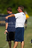 E Forsyth Eagles vs Reagan Raiders Men's Varsity Soccer<br /> Forsyth Cup Consolation Match<br /> Wednesday, August 15, 2012 at West Forsyth High School<br /> Clemmons, NC<br /> (file 163753_BV0H7711_1D4)