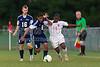 East Forsyth Eagles vs Glenn Bobcats Men's Varsity Soccer<br /> Forsyth Cup Soccer Tournament Championship Match<br /> Saturday, August 24, 2013 at West Forsyth High School<br /> Clemmons, North Carolina<br /> (file 195756_BV0H4281_1D4)