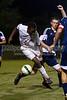 East Forsyth Eagles vs Glenn Bobcats Men's Varsity Soccer<br /> Forsyth Cup Soccer Tournament Championship Match<br /> Saturday, August 24, 2013 at West Forsyth High School<br /> Clemmons, North Carolina<br /> (file 205640_803Q4608_1D3)