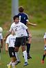 East Forsyth Eagles vs RJR Demons Men's Varsity Soccer<br /> Forsyth Cup Soccer Tournament Semifinal Match<br /> Thursday, August 22, 2013 at West Forsyth High School<br /> Clemmons, North Carolina<br /> (file 191730_BV0H3073_1D4)
