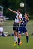 East Forsyth Eagles vs RJR Demons Men's Varsity Soccer<br /> Forsyth Cup Soccer Tournament Semifinal Match<br /> Thursday, August 22, 2013 at West Forsyth High School<br /> Clemmons, North Carolina<br /> (file 193125_BV0H3135_1D4)