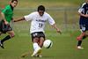 East Forsyth Eagles vs RJR Demons Men's Varsity Soccer<br /> Forsyth Cup Soccer Tournament Semifinal Match<br /> Thursday, August 22, 2013 at West Forsyth High School<br /> Clemmons, North Carolina<br /> (file 191745_BV0H3075_1D4)