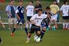 East Forsyth Eagles vs RJR Demons Men's Varsity Soccer<br /> Forsyth Cup Soccer Tournament Semifinal Match<br /> Thursday, August 22, 2013 at West Forsyth High School<br /> Clemmons, North Carolina<br /> (file 193744_BV0H3154_1D4)