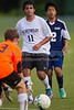 East Forsyth Eagles vs RJR Demons Men's Varsity Soccer<br /> Forsyth Cup Soccer Tournament Semifinal Match<br /> Thursday, August 22, 2013 at West Forsyth High School<br /> Clemmons, North Carolina<br /> (file 192904_BV0H3128_1D4)