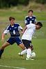 East Forsyth Eagles vs RJR Demons Men's Varsity Soccer<br /> Forsyth Cup Soccer Tournament Semifinal Match<br /> Thursday, August 22, 2013 at West Forsyth High School<br /> Clemmons, North Carolina<br /> (file 191823_BV0H3079_1D4)