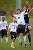 East Forsyth Eagles vs RJR Demons Men's Varsity Soccer<br /> Forsyth Cup Soccer Tournament Semifinal Match<br /> Thursday, August 22, 2013 at West Forsyth High School<br /> Clemmons, North Carolina<br /> (file 191729_BV0H3070_1D4)
