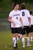 East Forsyth Eagles vs RJR Demons Men's Varsity Soccer<br /> Forsyth Cup Soccer Tournament Semifinal Match<br /> Thursday, August 22, 2013 at West Forsyth High School<br /> Clemmons, North Carolina<br /> (file 193652_BV0H3149_1D4)