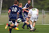 East Forsyth Eagles vs West Forsyth Titans Men's Varsity Soccer<br /> Forsyth Cup Soccer Tournament<br /> Tuesday, August 20, 2013 at West Forsyth High School<br /> Clemmons, North Carolina<br /> (file 172053_BV0H1771_1D4)