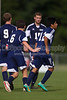 East Forsyth Eagles vs West Forsyth Titans Men's Varsity Soccer<br /> Forsyth Cup Soccer Tournament<br /> Tuesday, August 20, 2013 at West Forsyth High School<br /> Clemmons, North Carolina<br /> (file 172805_BV0H1820_1D4)