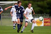 East Forsyth Eagles vs West Forsyth Titans Men's Varsity Soccer<br /> Forsyth Cup Soccer Tournament<br /> Tuesday, August 20, 2013 at West Forsyth High School<br /> Clemmons, North Carolina<br /> (file 173830_BV0H1867_1D4)