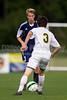 East Forsyth Eagles vs West Forsyth Titans Men's Varsity Soccer<br /> Forsyth Cup Soccer Tournament<br /> Tuesday, August 20, 2013 at West Forsyth High School<br /> Clemmons, North Carolina<br /> (file 173343_BV0H1846_1D4)