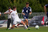 East Forsyth Eagles vs West Forsyth Titans Men's Varsity Soccer<br /> Forsyth Cup Soccer Tournament<br /> Tuesday, August 20, 2013 at West Forsyth High School<br /> Clemmons, North Carolina<br /> (file 173717_BV0H1851_1D4)