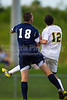 East Forsyth Eagles vs West Forsyth Titans Men's Varsity Soccer<br /> Forsyth Cup Soccer Tournament<br /> Tuesday, August 20, 2013 at West Forsyth High School<br /> Clemmons, North Carolina<br /> (file 182940_BV0H2046_1D4)