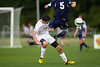East Forsyth Eagles vs West Forsyth Titans Men's Varsity Soccer<br /> Forsyth Cup Soccer Tournament<br /> Tuesday, August 20, 2013 at West Forsyth High School<br /> Clemmons, North Carolina<br /> (file 183117_BV0H2051_1D4)