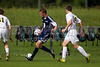 East Forsyth Eagles vs West Forsyth Titans Men's Varsity Soccer<br /> Forsyth Cup Soccer Tournament<br /> Tuesday, August 20, 2013 at West Forsyth High School<br /> Clemmons, North Carolina<br /> (file 172942_BV0H1829_1D4)