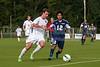 East Forsyth Eagles vs West Forsyth Titans Men's Varsity Soccer<br /> Forsyth Cup Soccer Tournament<br /> Tuesday, August 20, 2013 at West Forsyth High School<br /> Clemmons, North Carolina<br /> (file 173141_803Q4030_1D3)