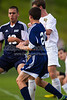 East Forsyth Eagles vs West Forsyth Titans Men's Varsity Soccer<br /> Forsyth Cup Soccer Tournament<br /> Tuesday, August 20, 2013 at West Forsyth High School<br /> Clemmons, North Carolina<br /> (file 182942_BV0H2050_1D4)