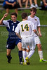 East Forsyth Eagles vs West Forsyth Titans Men's Varsity Soccer<br /> Forsyth Cup Soccer Tournament<br /> Tuesday, August 20, 2013 at West Forsyth High School<br /> Clemmons, North Carolina<br /> (file 171831_BV0H1759_1D4)