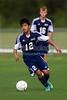East Forsyth Eagles vs West Forsyth Titans Men's Varsity Soccer<br /> Forsyth Cup Soccer Tournament<br /> Tuesday, August 20, 2013 at West Forsyth High School<br /> Clemmons, North Carolina<br /> (file 172329_BV0H1786_1D4)
