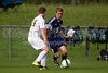 East Forsyth Eagles vs West Forsyth Titans Men's Varsity Soccer<br /> Forsyth Cup Soccer Tournament<br /> Tuesday, August 20, 2013 at West Forsyth High School<br /> Clemmons, North Carolina<br /> (file 172943_BV0H1830_1D4)
