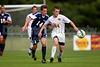 East Forsyth Eagles vs West Forsyth Titans Men's Varsity Soccer<br /> Forsyth Cup Soccer Tournament<br /> Tuesday, August 20, 2013 at West Forsyth High School<br /> Clemmons, North Carolina<br /> (file 173830_BV0H1865_1D4)