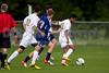 East Forsyth Eagles vs West Forsyth Titans Men's Varsity Soccer<br /> Forsyth Cup Soccer Tournament<br /> Tuesday, August 20, 2013 at West Forsyth High School<br /> Clemmons, North Carolina<br /> (file 170439_BV0H1684_1D4)