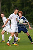 East Forsyth Eagles vs West Forsyth Titans Men's Varsity Soccer<br /> Forsyth Cup Soccer Tournament<br /> Tuesday, August 20, 2013 at West Forsyth High School<br /> Clemmons, North Carolina<br /> (file 183007_803Q4044_1D3)