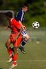 Glenn Bobcats vs Bishop McGuinness  Villains Men's Varsity Soccer<br /> Forsyth Cup Consolation Match<br /> Thursday, August 16, 2012 at West Forsyth High School<br /> Clemmons, NC<br /> (file 163812_BV0H8218_1D4)