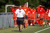 Glenn Bobcats vs Bishop McGuinness  Villains Men's Varsity Soccer<br /> Forsyth Cup Consolation Match<br /> Thursday, August 16, 2012 at West Forsyth High School<br /> Clemmons, NC<br /> (file 164749_BV0H8224_1D4)