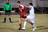Mt Tabor Spartans vs Charlotte Catholic Cougars Men's Varsity Soccer<br /> Saturday, November 02, 2013 at Mt Tabor High School<br /> Winston Salem, North Carolina<br /> (file 191555_803Q8903_1D3)