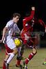 Mt Tabor Spartans vs Charlotte Catholic Cougars Men's Varsity Soccer<br /> Saturday, November 02, 2013 at Mt Tabor High School<br /> Winston Salem, North Carolina<br /> (file 191822_BV0H3631_1D4)