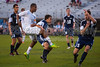 Mt Tabor Spartans vs East Forsyth Eagles Men's Varsity Soccer<br /> Tuesday, September 03, 2013 at Mt Tabor High School<br /> Winston Salem, North Carolina<br /> (file 194414_803Q4702_1D3)