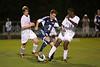 Mt Tabor Spartans vs East Forsyth Eagles Men's Varsity Soccer<br /> Tuesday, September 03, 2013 at Mt Tabor High School<br /> Winston Salem, North Carolina<br /> (file 202758_803Q4735_1D3)