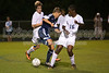 Mt Tabor Spartans vs East Forsyth Eagles Men's Varsity Soccer<br /> Tuesday, September 03, 2013 at Mt Tabor High School<br /> Winston Salem, North Carolina<br /> (file 202758_803Q4736_1D3)