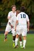 Mt Tabor Spartans vs East Forsyth Eagles Men's Varsity Soccer<br /> Tuesday, September 03, 2013 at Mt Tabor High School<br /> Winston Salem, North Carolina<br /> (file 193058_QE6Q1321_1D2N)