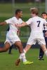 Mt Tabor Spartans vs East Forsyth Eagles Men's Varsity Soccer<br /> Tuesday, September 03, 2013 at Mt Tabor High School<br /> Winston Salem, North Carolina<br /> (file 193110_BV0H4784_1D4)