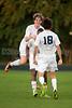 Mt Tabor Spartans vs East Forsyth Eagles Men's Varsity Soccer<br /> Tuesday, September 03, 2013 at Mt Tabor High School<br /> Winston Salem, North Carolina<br /> (file 193058_QE6Q1322_1D2N)