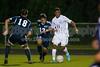 Mt Tabor Spartans vs East Forsyth Eagles Men's Varsity Soccer<br /> Tuesday, September 03, 2013 at Mt Tabor High School<br /> Winston Salem, North Carolina<br /> (file 202853_QE6Q1393_1D2N)