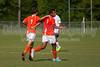 Mt Tabor Spartans vs Glenn Bobcats Men's Varsity Soccer<br /> Forsyth Cup Soccer Tournament Semifinal Match<br /> Thursday, August 22, 2013 at West Forsyth High School<br /> Clemmons, North Carolina<br /> (file 171645_803Q4148_1D3)