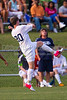 Mt Tabor Spartans vs Glenn Bobcats Men's Varsity Soccer<br /> Forsyth Cup Qtrfinals<br /> Tuesday, August 14, 2012 at West Forsyth High School<br /> Clemmons, NC<br /> (file 181314_BV0H7322_1D4)